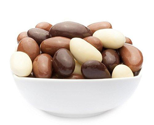 Paranüsse mit Schokolade gemischt (7 x 90g in ALU-Dose)