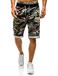 BOLF Herren Kurzhose Shorts Bermudas Military Jogging Camo 7G7 Motiv