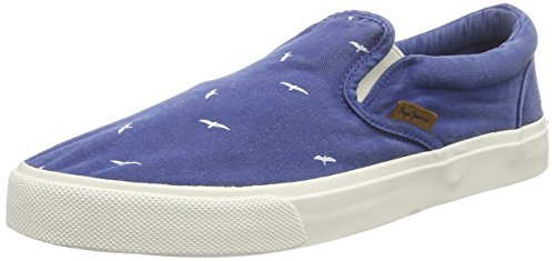 Pepe Jeans Harry Elastic Birds, Baskets Basses Homme