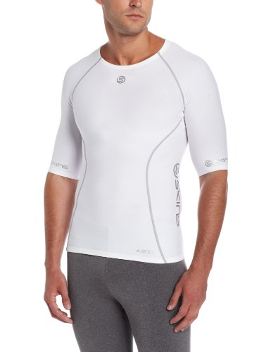 skins-a200-short-sleeve-mens-compression-top-white-xl