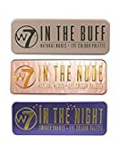 W7 Natural Nudes Eye Colour Palette (W7 In The Buff+In The Night+ In The Nude)