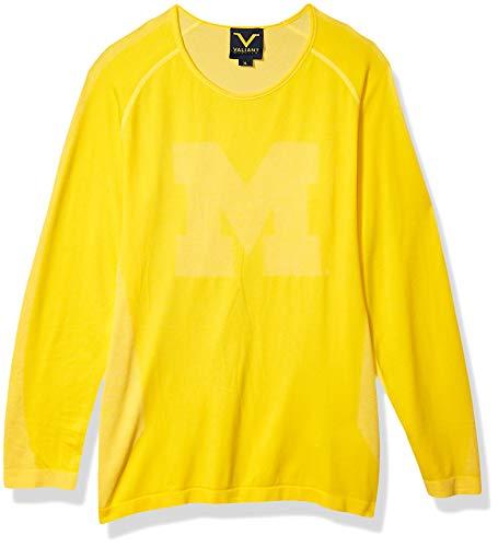 olverines Damen-T-Shirt mit Langen Ärmeln vorne M Maisze eingewebt, langärmelig, Lange Ärmel, Größe XL, Teamfarbe XL ()