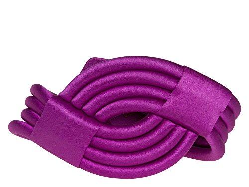 ESCADA Donne Cintura di stoffa 100% seta lilla 38