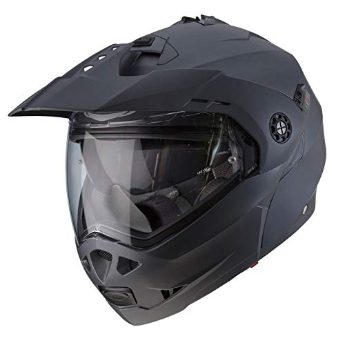 Caberg Tourmax Enduro Klapphelm XL (61/62) Matt/Metall