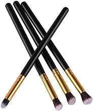 4pcs herramientas de maquillaje sombra de ojos Foundation mezclado Juego de brochas