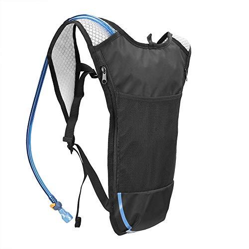 Leezo Outdoor Running Rucksack Mit 2L Wasser Tasche Atmungsaktiv Outdoor Radfahren Wandern Trink Zubehör, Laufrucksack Für Frauen Männer Erwachsene