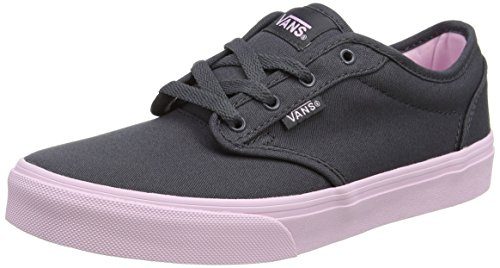 Vans  My Atwood, Sneakers Basses fille Gris (Canvas Asphalt/pink Lady)
