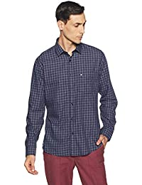 Van Heusen Sport Men's Checkered Slim Fit Casual Shirt