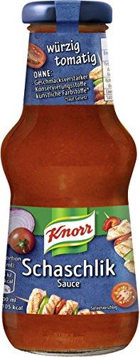 Knorr Schlemmersauce Schaschlik, 6er Pack (6 x 250 ml)