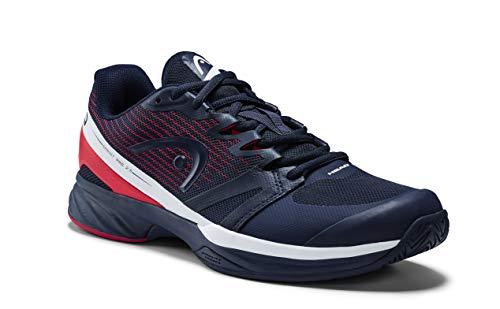 Head Sprint PRO 2.5 Men, Scarpe da Tennis Uomo, Blu (Dark Blue/Neon Red Dbnr), 46.5 EU