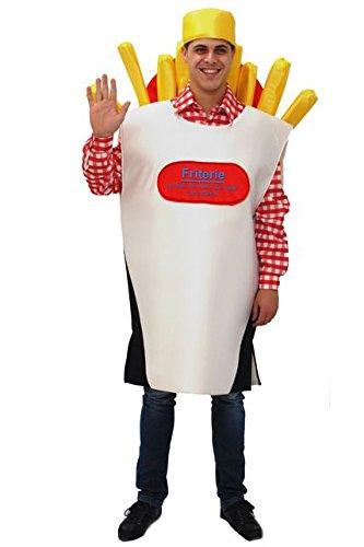 Aptafêtes–cu030923/50–56–Kornett Pommes Frites Kostüm Gr. (Für Pommes Erwachsene Kostüm)