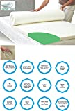 Best Feather Mattress Toppers - Feather Touch Memory Foam Mattress Topper with Premium Review