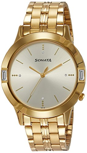 Sonata Analog Silver Dial Men's Watch (7111YM01)-NK7111YM01