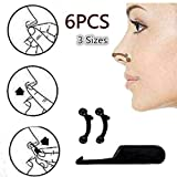 AlexVyan Original 3D 6Pcs/Set in 3 Size Nose Up Lifting Shaping Bridge Nose