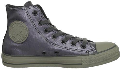 Converse Chuck Taylor All Star Metal Hi, Baskets mode mixte adulte Gris (Gris Fonce)