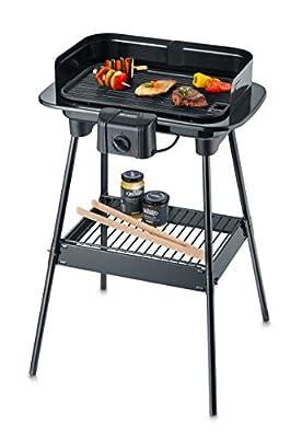 Severin Barbecue-Grill, 49.8 x 36.5 x 11.5 cm, schwarz, PG 8534