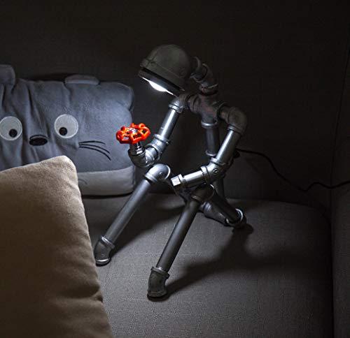 Robot industrial Lámpara mesa USB-LED-Escritorio-Lectura-Iluminación