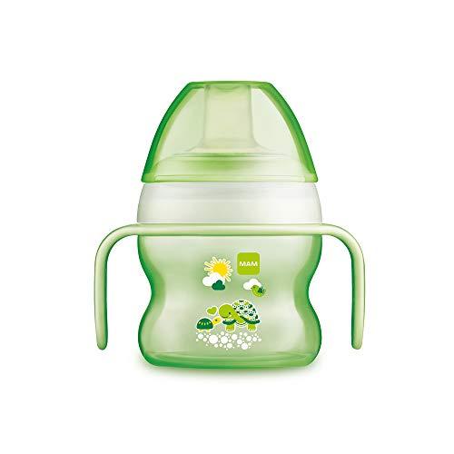 MAM 670183 Tazza di apprendimento salvagoccia per bambini 150 ml Verde