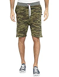 Sweet Pants - Short Short Loose Terry Camouflage