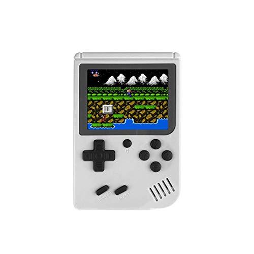 YouN RS-6A Retro-Spielkonsole, 8-Bit, 7,6 cm, eingebaut, 168 Spiele (weiß)