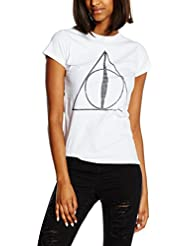 Plastic Head Harry Potter Deathly Hallows Symbol Gts - T-Shirt - Femme