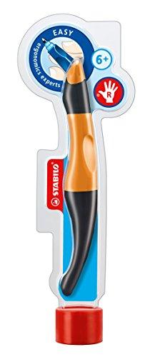 Preisvergleich Produktbild STABILO EASYoriginal rechts orange/anthrazit inkl. 3 Refills - ergonomischer Tintenroller