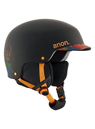 Anon scout, casco snowboard bambino, bonez black, m