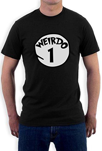 Weirdo 1 Kostüm T-Shirt Schwarz