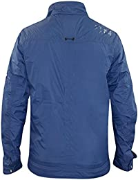 Firetrap Mens Windbreaker Summer Jacket Collar Zip Coat