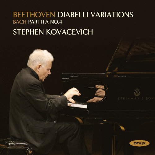 Beethoven: Diabelli Variations & Bach: Partita No.4 (2008 recording) by Stephen Kovacevich (2009-02-10)
