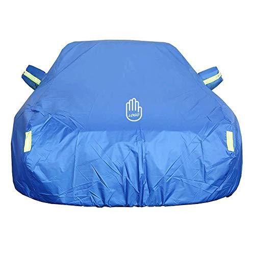 CAR COVER Autoabdeckung Limousine |Geländewagen, passend für Toyota Sienna (Color : Blue)