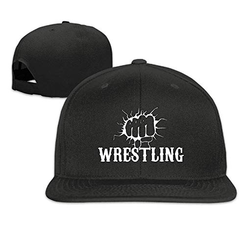 WYYCLD Funny Fist Wrestling Flat-Brimmed Hip-Hop Style Baseball Cap Outdoor Snapback Hat
