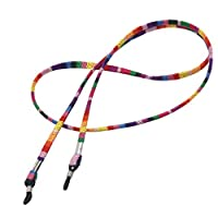Baoblaze 5 Pieces/Pack Bohemian Ethnic Cotton Material Eyeglass Sunglesses Glass Retainer Lanyard String