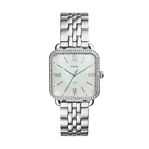 Fossil Womens Quartz Watch with Stainless Steel Strap ES4268