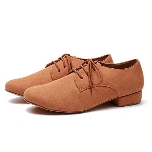 Minitoo Danse de Salon Homme Light Tan-2.5cm Heel