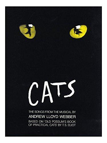 Andrew Lloyd Webber: Cats - Vocal Selections. Partitions pour Piano, Chant et Guitare(Symboles d'Accords)