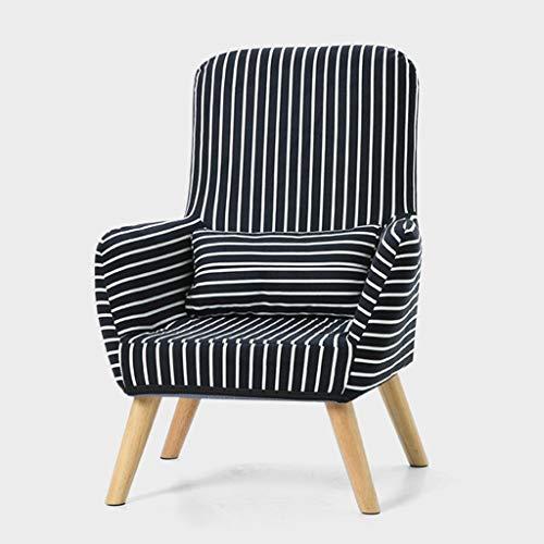 YLCJ Einzelsofa Stillstuhl Liege Rückenlehne Stuhl Fütterung Hocker Schlafzimmer Höhe 80cm (Farbe: Zebra Farbe) -