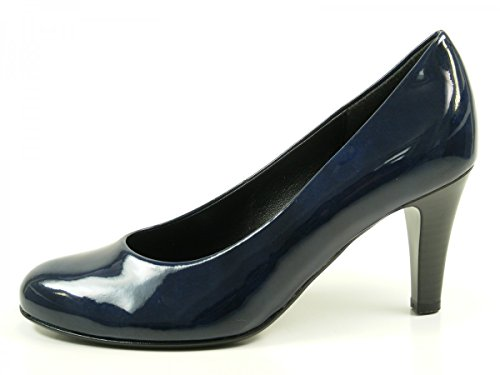 Gabor Shoes Basic, Scarpe con Tacco Donna Blau