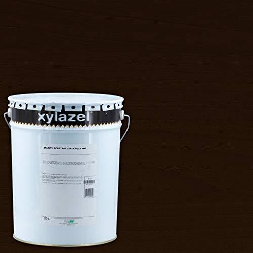 Lasur Aqua Industrial Satinado Xylazel 20 L - Wengué