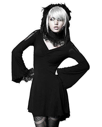Punk Rave Damen langärmeliges Kleid One size-fits UK 8, 10, 12 ()
