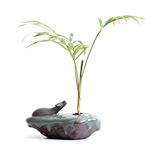 Ge Ofen Keramik Tischplatte Topf Ornament Kreative Zen, Hirsch, Kupfer Blumenvase, Evangelisation enthält Keine Pflanzen, Klein