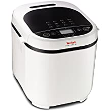 Tefal Pain Doré PF2101 720W Color blanco - Panificadora (720 W, Color blanco, 1 kg, 500 g, 15 h, LCD)