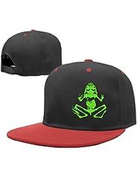 zengjiansm Gorras béisbol Hip Hop Baseball Caps Adjustable Hat Skull Frog  Boys-Girl 3c206974345
