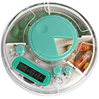 Saiko 3 Compartment Pille Dispenser Box Elektronische Medikamente Erinnerung für Käufer Mann ältere Kinder preisvergleich bei billige-tabletten.eu