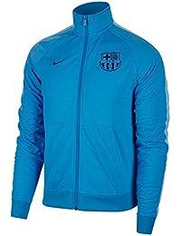 Nike FCB M NSW JKT PK CRE NJT Jacket, Hombre, Equator Blue/Vivid