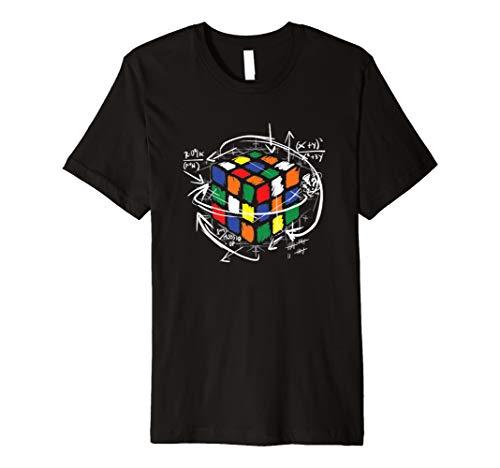 Rubik Cube Mathematische T Shirt