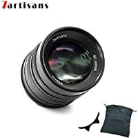 7artisans 55 mm f1.4 APS-C Manuelle Fixiertes Objektiv für Fuji X-Mount-Kameras wie X-A1 x-a10 x-a2 x-a3 x-at M1 XM2 X-T1 x-t10 x-t2 x-t20 X-Pro1 x-pro2 X-E1 X-E2 x-e2s