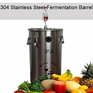 Stainless Steel Fermenter Fermentation Barrel Home Brew Wine Beer Fermenters