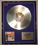 BRUCE SPRINGSTEEN//Limitierte Edition Platin Schallplatte/GREATEST HITS