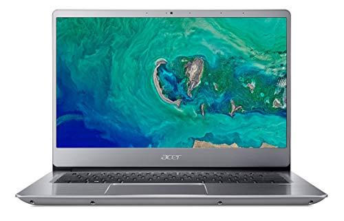 "Acer Swift 3   SF314-56-574K - Ordenador portátil de 14"" FHD ComfyView IPS LED LCD (Intel Core i5-8265U, 8GB de RAM, 256GB SSD, Intel UHD Graphics 620, Windows 10 Home) Plata - Teclado QWERY Español"